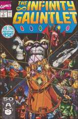 Infinity Gauntlet (1991) #1 Variant B: Direct Edition