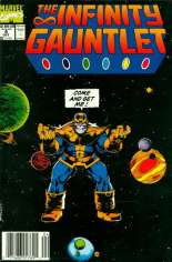 Infinity Gauntlet (1991) #4 Variant A: Newsstand Edition