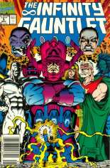Infinity Gauntlet (1991) #5 Variant A: Newsstand Edition