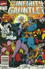 Infinity Gauntlet (1991) #6 Variant A: Newsstand Edition