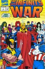 Infinity War (1992) #1: Gatefold Cover