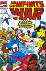 Infinity War (1992) #2: Gatefold Cover