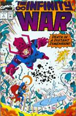 Infinity War (1992) #3: Gatefold Cover
