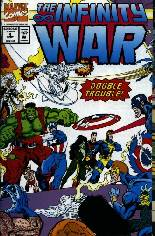 Infinity War (1992) #4: Gatefold Cover