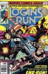 Logan's Run (1977) #5 Variant A