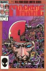 Machine Man (1984-1985) #2 Variant B: Direct Edition
