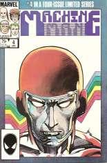 Machine Man (1984-1985) #4 Variant B: Direct Edition