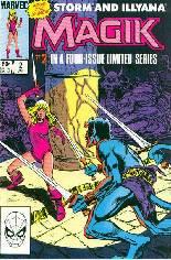 Magik (1983-1984) #2 Variant B: Direct Edition