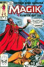 Magik (1983-1984) #3 Variant B: Direct Edition