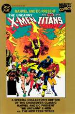 Marvel and DC Present Featuring the Uncanny X-Men and the New Teen Titans (1982) #1 Variant B: Reprint