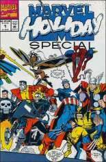 Marvel Holiday Special (1991-Present) #1991: Christmas 1991 (Cover says issue #1); Wraparound Cover