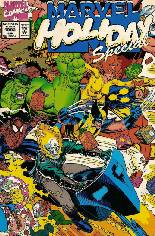 Marvel Holiday Special (1991-Present) #1992: Christmas 1992 (Cover says Jan. 1993); Wraparound Cover