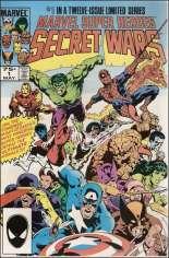 Marvel Super-Heroes Secret Wars (1984-1985) #1 Variant D: 2nd Printing; Multi-Pack Edition