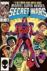 Marvel Super-Heroes Secret Wars (1984-1985) #2 Variant D: 2nd Printing; Multi-Pack Edition