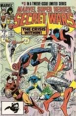 Marvel Super-Heroes Secret Wars (1984-1985) #3 Variant D: 2nd Printing; Multi-Pack Edition