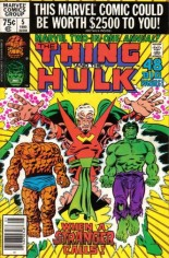 Marvel Two-In-One (1974-1983) #Annual 5 Variant A: Newsstand Edition
