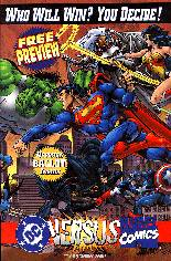 DC Versus Marvel (1996) #Preview: Promotional Giveaway; Comes w/ an Official Ballot and Preview Card