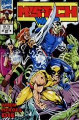 Mys-Tech Wars (1993) #3: Wraparound Cover