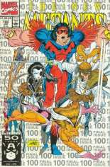 New Mutants (1983-1991) #100 Variant D: 3rd Printing; Silver Cover