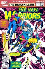 New Warriors (1990-1996) #Annual 2 Variant B: Direct Edition