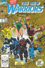 New Warriors (1990-1996) #1 Variant C: 2nd Printing; Gold Cover