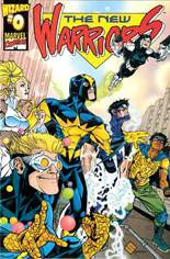 New Warriors (1999-2000) #0 Variant A: Insert with Wizard Avengers Special