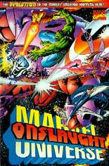 Onslaught: Marvel Universe (1996) #1 Variant A: Wraparound Cover