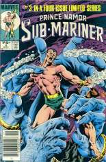 Prince Namor, the Sub-Mariner (1984) #3 Variant A: Newsstand Edition