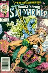 Prince Namor, the Sub-Mariner (1984) #4 Variant A: Newsstand Edition