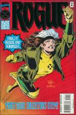 Rogue (1995) #1 Variant B: Direct Edition; Foil Enhanced Cover