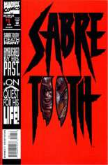 Sabretooth (1993) #1 Variant B: Direct Edition; Die-Cut Cover