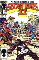 Secret Wars II (1985-1986) #1 Variant B: Direct Edition