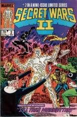 Secret Wars II (1985-1986) #2 Variant B: Direct Edition