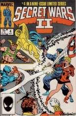 Secret Wars II (1985-1986) #4 Variant B: Direct Edition