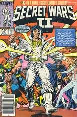 Secret Wars II (1985-1986) #6 Variant A: Newsstand Edition