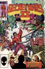 Secret Wars II (1985-1986) #7 Variant B: Direct Edition