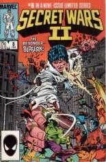 Secret Wars II (1985-1986) #8 Variant B: Direct Edition