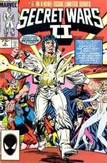 Secret Wars II (1985-1986) #6 Variant D: 2nd Printing