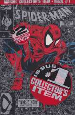 Spider-Man (1990-1998) #1 Variant G: Silver Edition; Polybagged; No Price on Cover