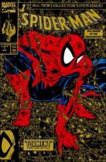 Spider-Man (1990-1998) #1 Variant J: 2nd Printing; Direct Edition; Gold Cover; Limited to 450,000 Copies