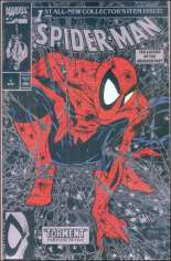 Spider-Man (1990-1998) #1 Variant F: Silver Edition; Not Polybagged; No Price on Cover