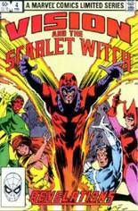 Vision and the Scarlet Witch (1982-1983) #4 Variant B: Direct Edition