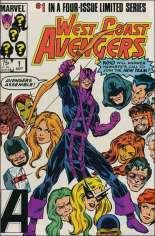 West Coast Avengers (1984) #1 Variant B: Direct Edition