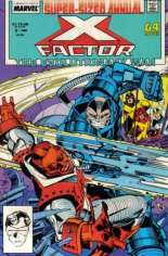 X-Factor (1986-1998) #Annual 3 Variant B: Direct Edition