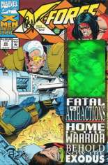 X-Force (1991-2002) #25 Variant C: Cable Hologram on Cover; DF Signed Edition; Signed by Greg Capullo; Limited to 7500 Copies w/ COA