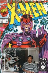 X-Men (1991-2001, 2004-2008) #1 Variant K: Magneto Cover; Comics X-Press Signed Edition; Signed by Jim Lee