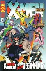 X-Men Alpha (1995) #1 Variant C: 2nd Printing