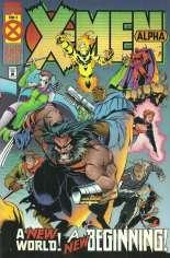 X-Men Alpha (1995) #1 Variant B: Gold Edition