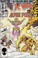 X-Men and Alpha Flight (1985-1986) #1 Variant B: Direct Edition