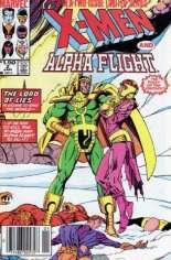 X-Men and Alpha Flight (1985-1986) #2 Variant A: Newsstand Edition